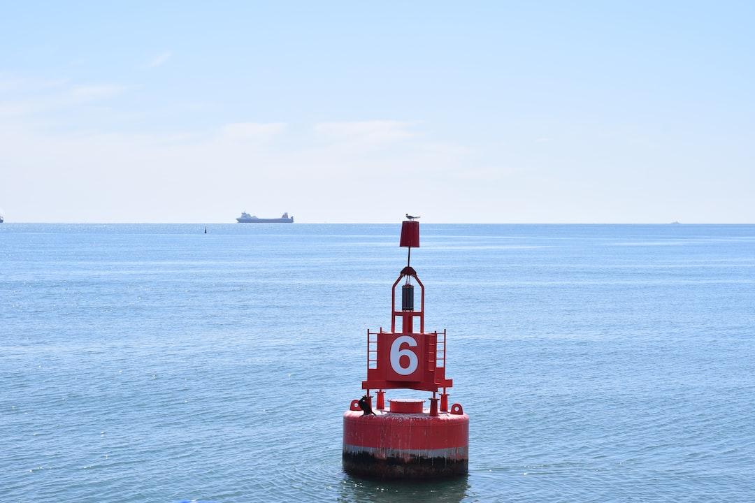 Buoy in Dublin Bay