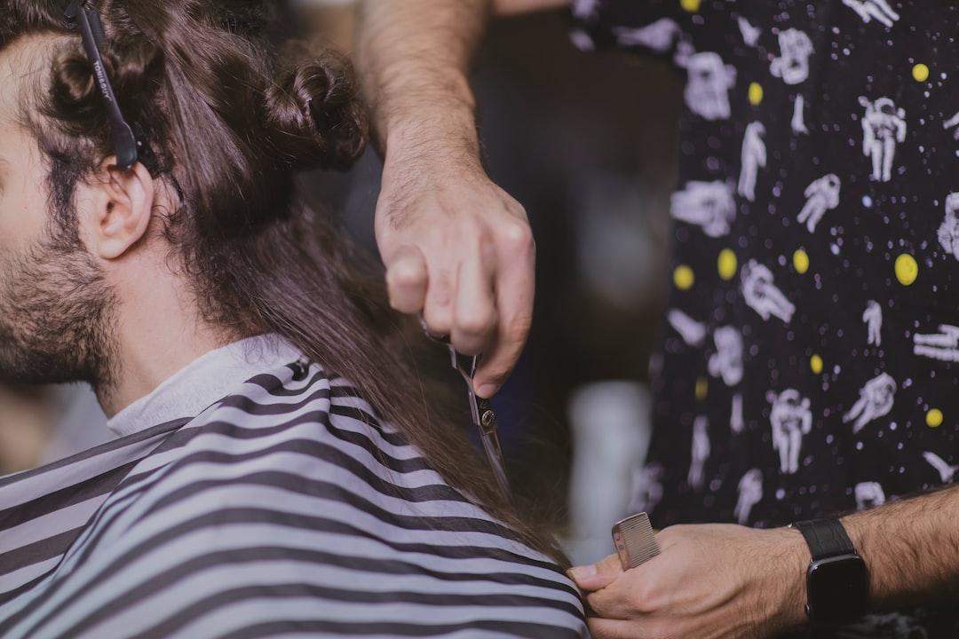 Barber Shop In Iran