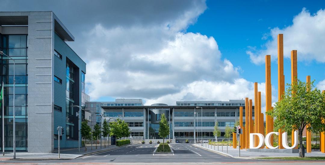 Dublin City University (DCU) The main entrance to DCU's Glasnevin campus in Dublin 9