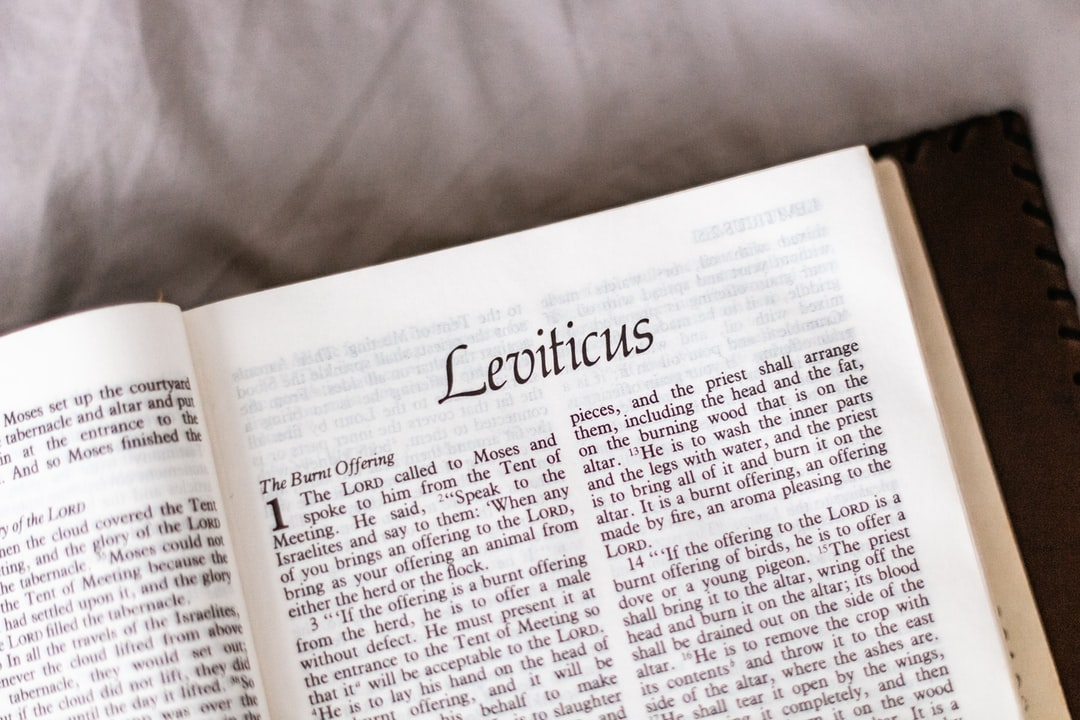 The Bible book of Leviticus