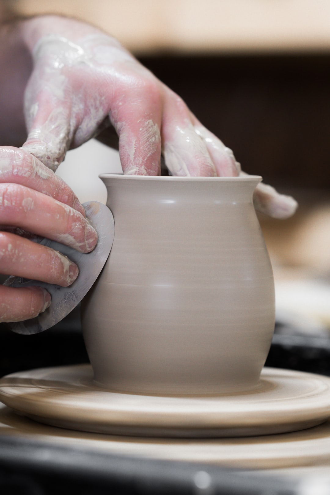 Throwing Pottery by Clay Plant Road Pottery