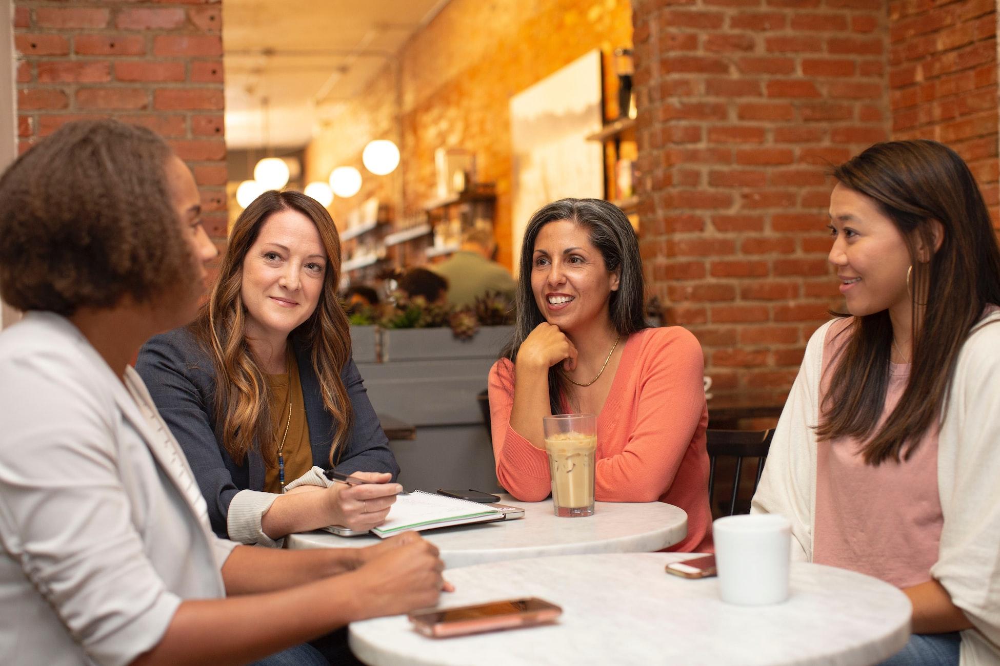 Virtual Team Building_Ladies Talking - The Best List of Team Icebreaker Questions