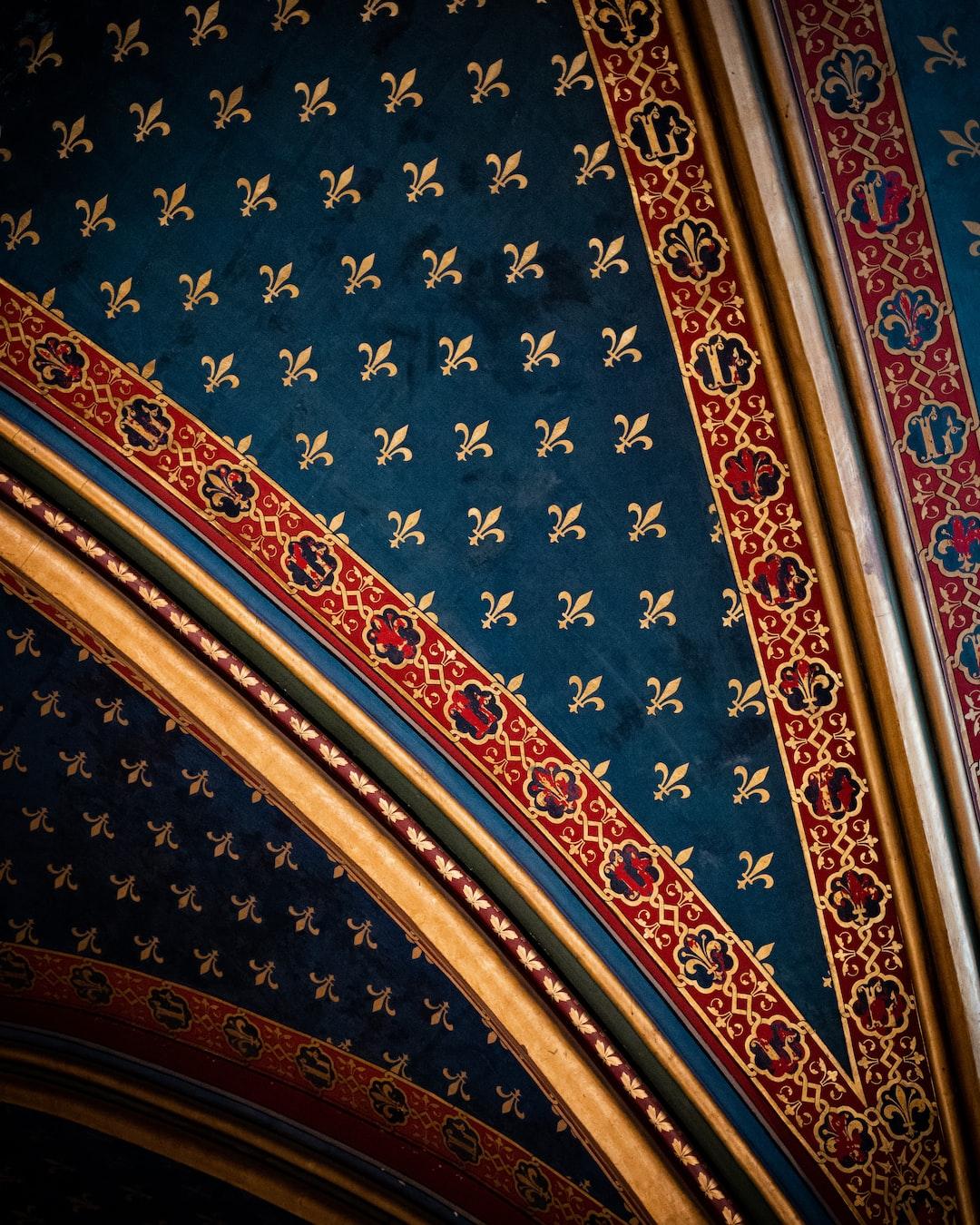 Texture of church