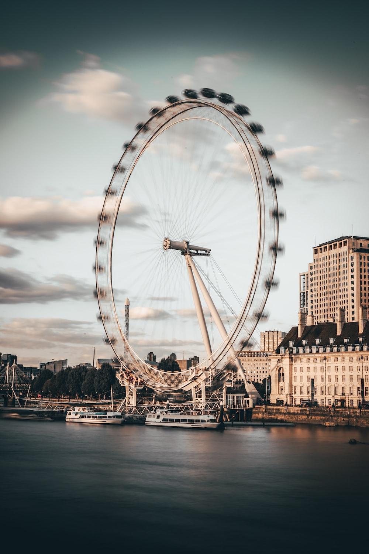 london eye under blue sky during daytime