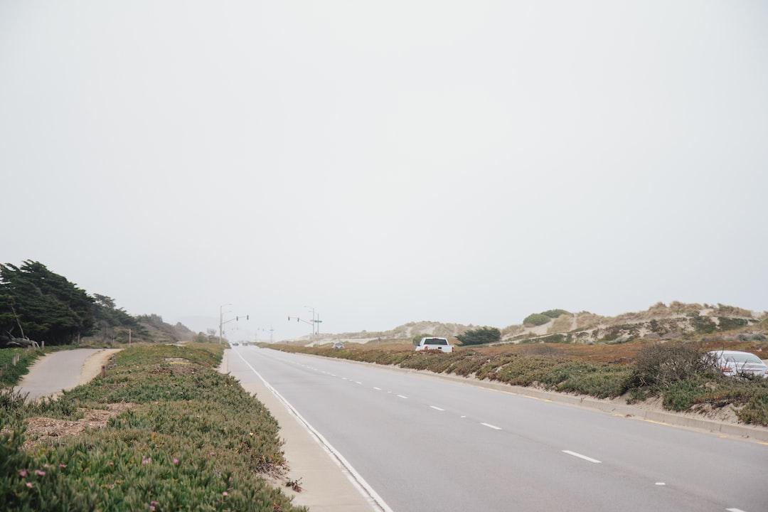 Upper Great Highway, Ocean Beach, Outer Sunset, San Francisco, California, USA