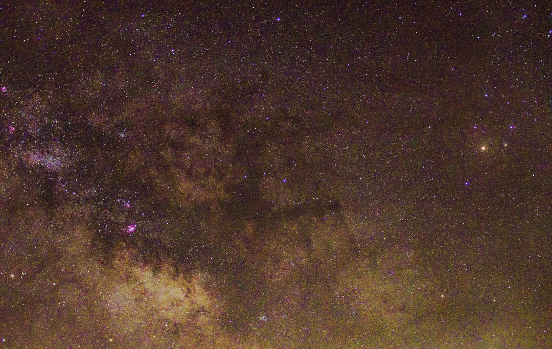 Another picture of the Milky Way core and Rho Ophiuchi.