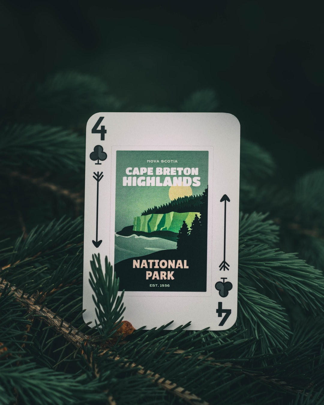I started an Etsy store selling Canadian National Parks playing cards!