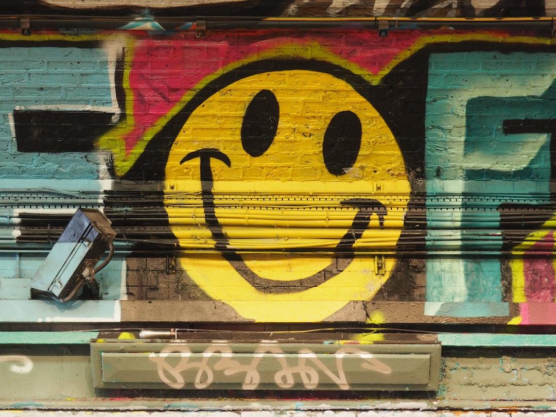 Street Art, Graffiti Art, Smile Face