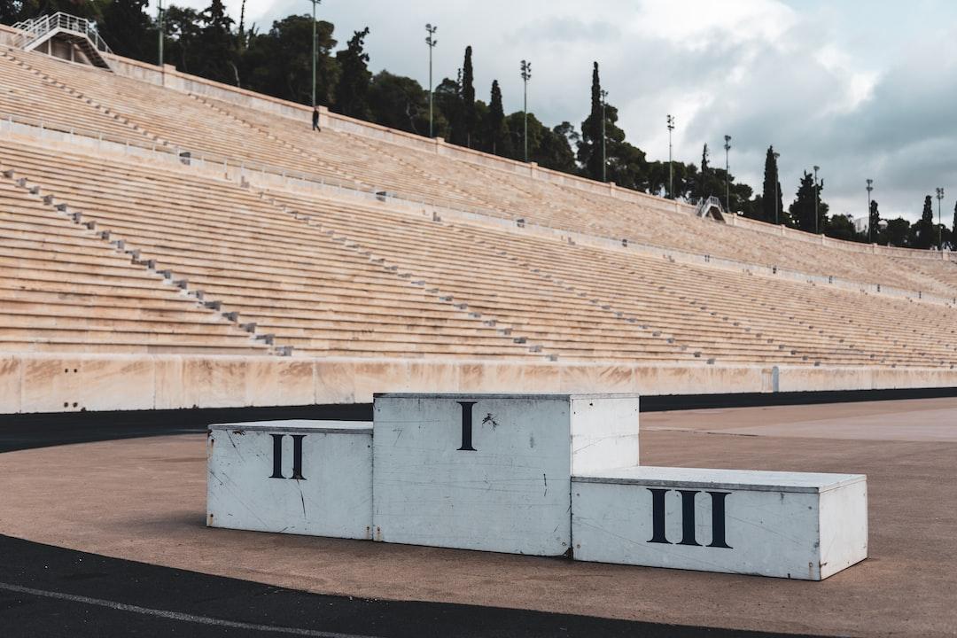 Ancient podium