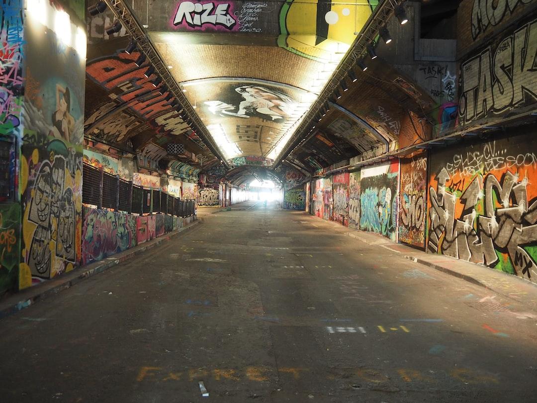 Street Art, Graffiti Art, The Vaults Tunnel