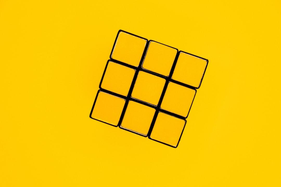 Still Life Rubik Cube  - unsplash