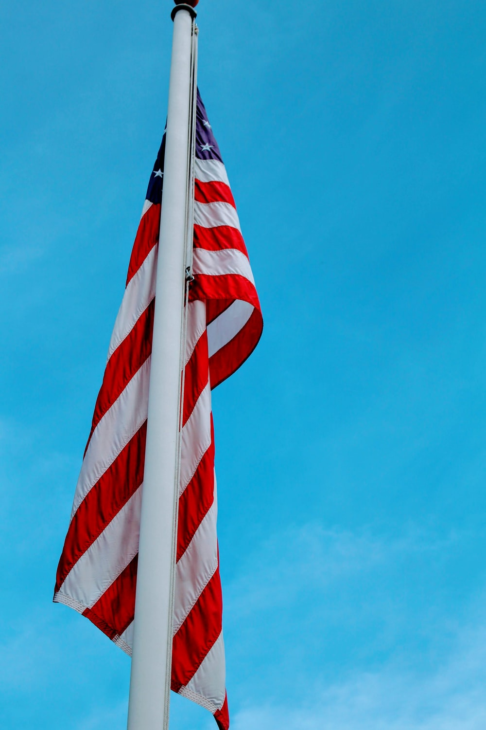 red and white striped flag