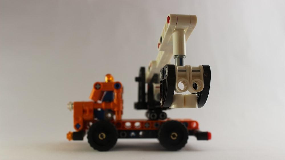orange and black toy train