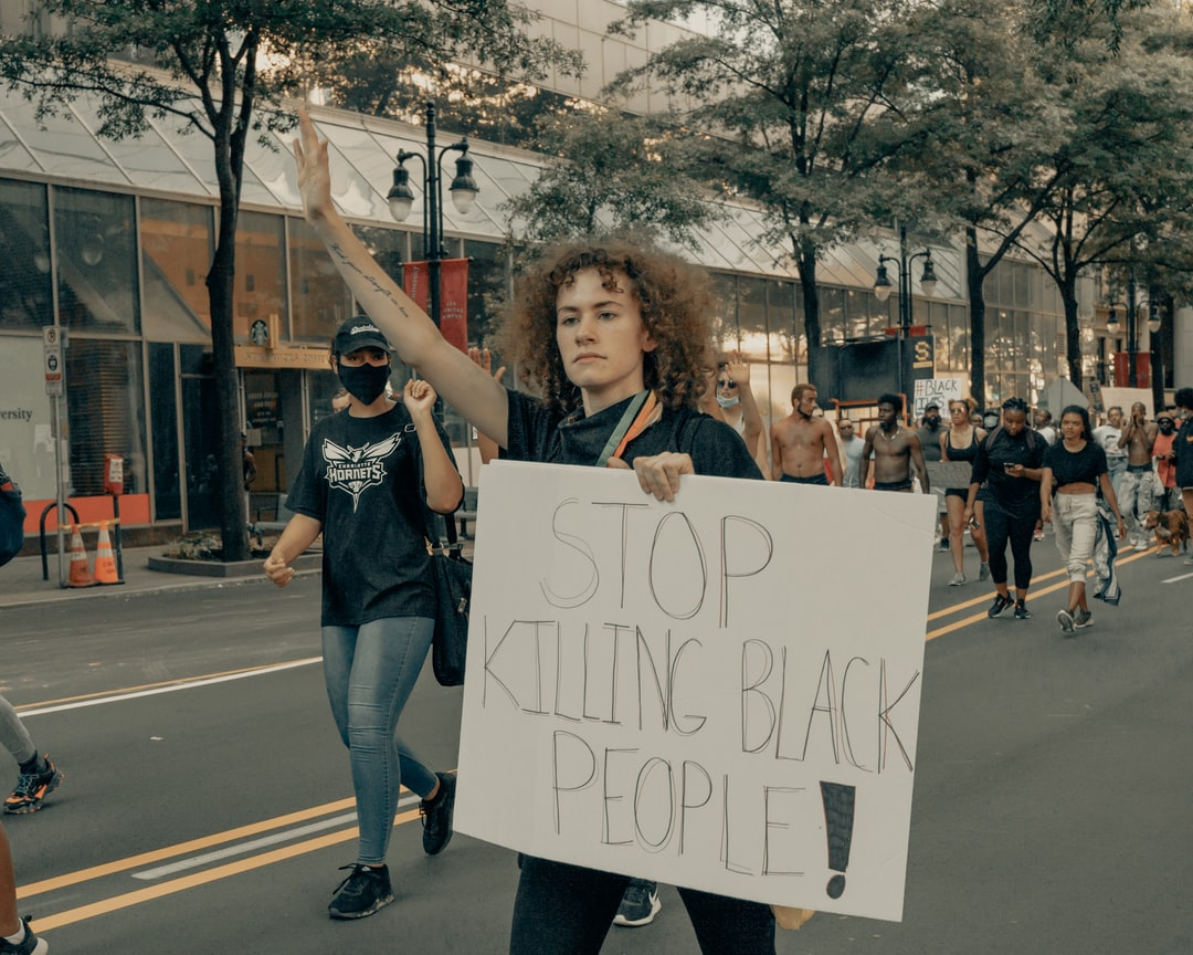 George Floyd protests in Uptown Charlotte, 5/30/2020 (IG: @clay.banks)
