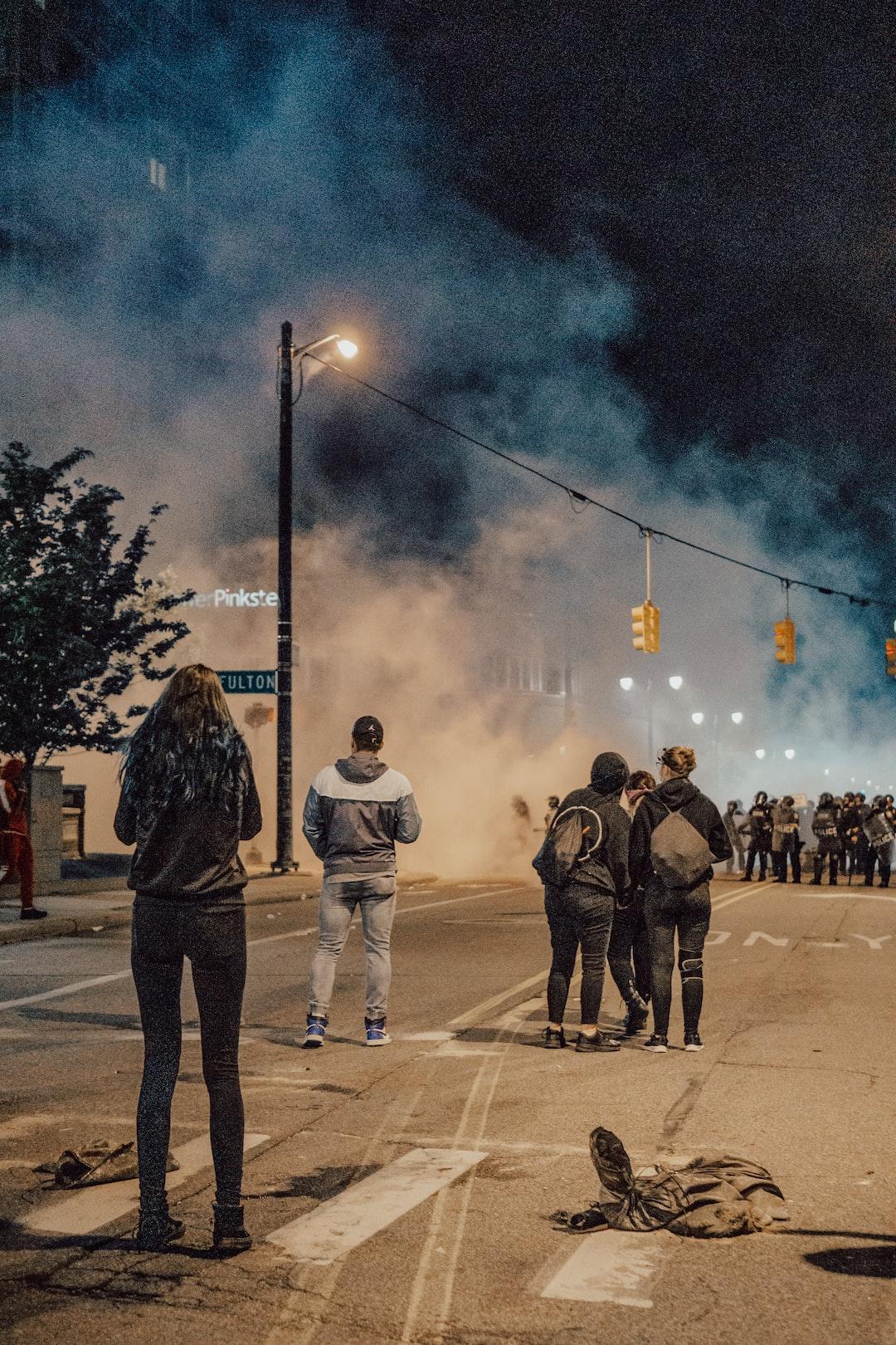 5.30.20  #JusticeForGeorgeFloyd protest in Grand Rapids, MI