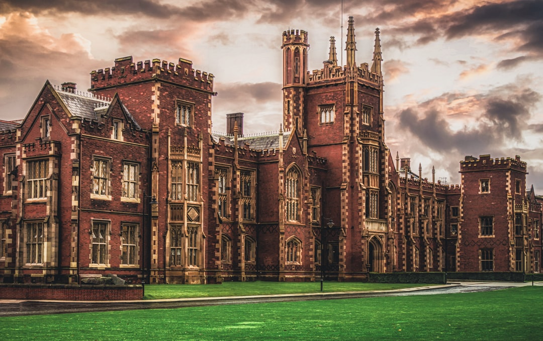 The Lanyon Building at Queen's University Belfast: My alma mater where I did my Ph.D. (Nov, 2019).