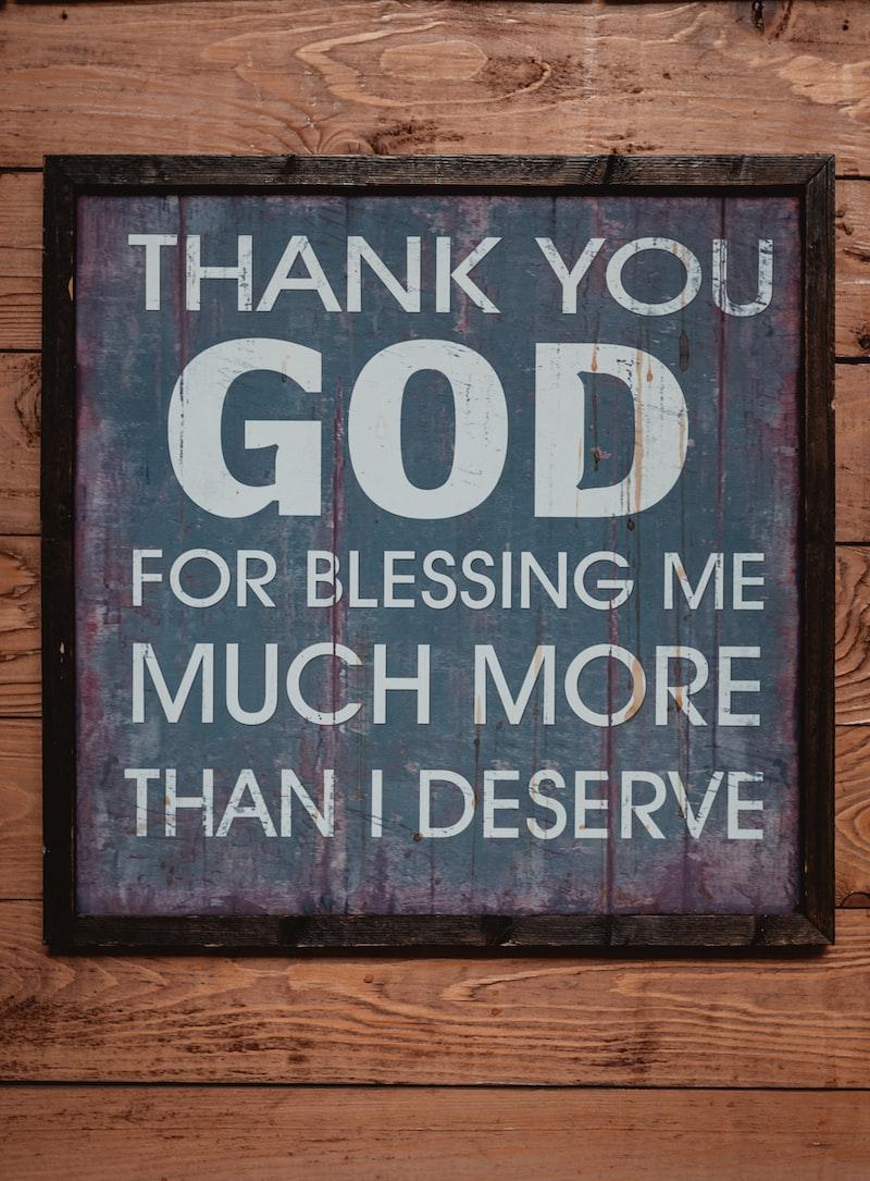 感謝 day 1: 混亂中的恩典