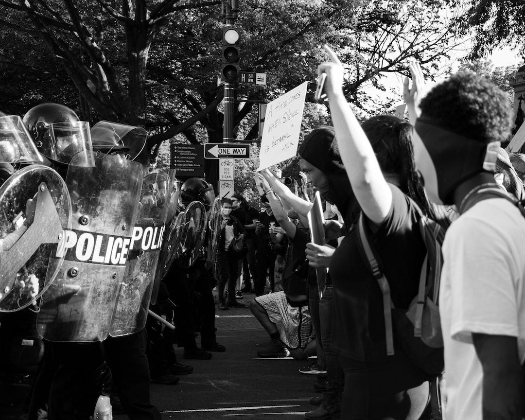 Black Lives Matter Protest in DC, 6/1/2020.  (Instagram: @koshuphotography)