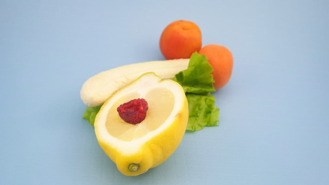 male and female as fruits and veggies