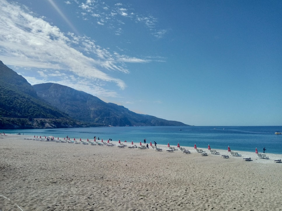 A snap of the Ölüdeniz Beach: Things to do in Fethiye