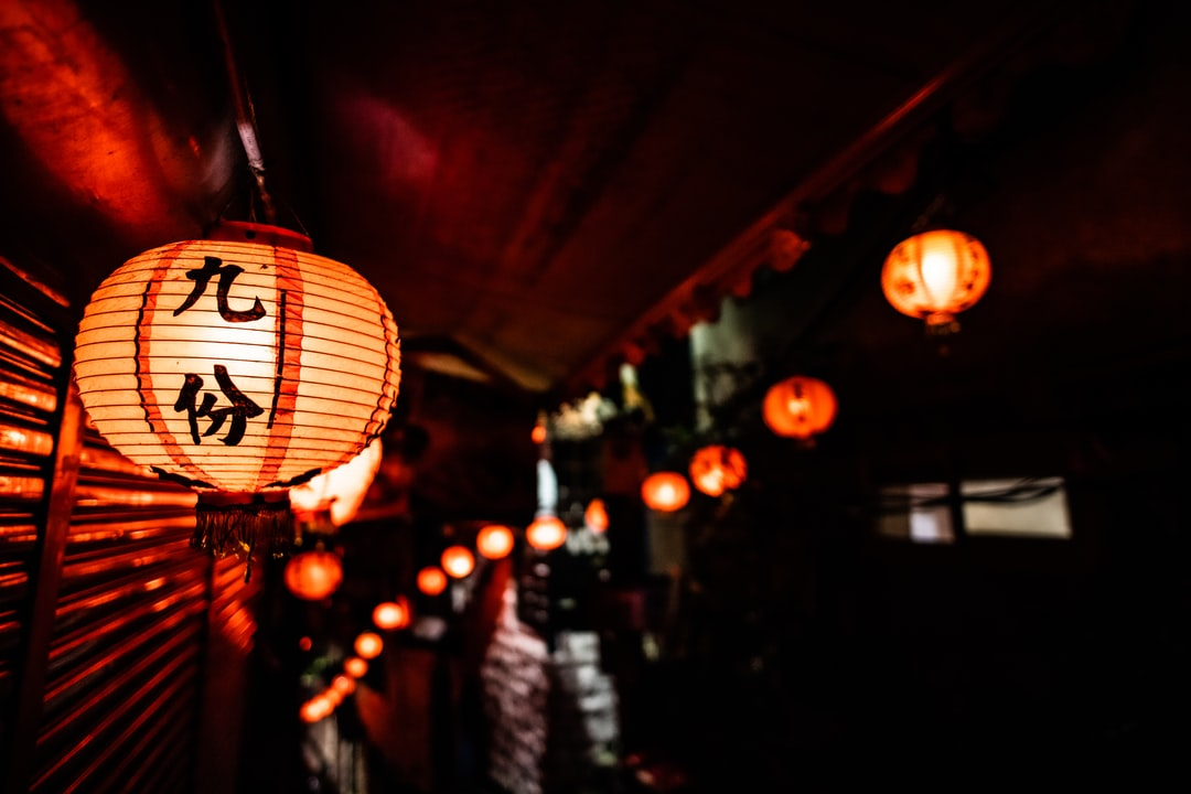 In Jiufen When Nights Come All the Village Is Lighten By These Old Light. - unsplash