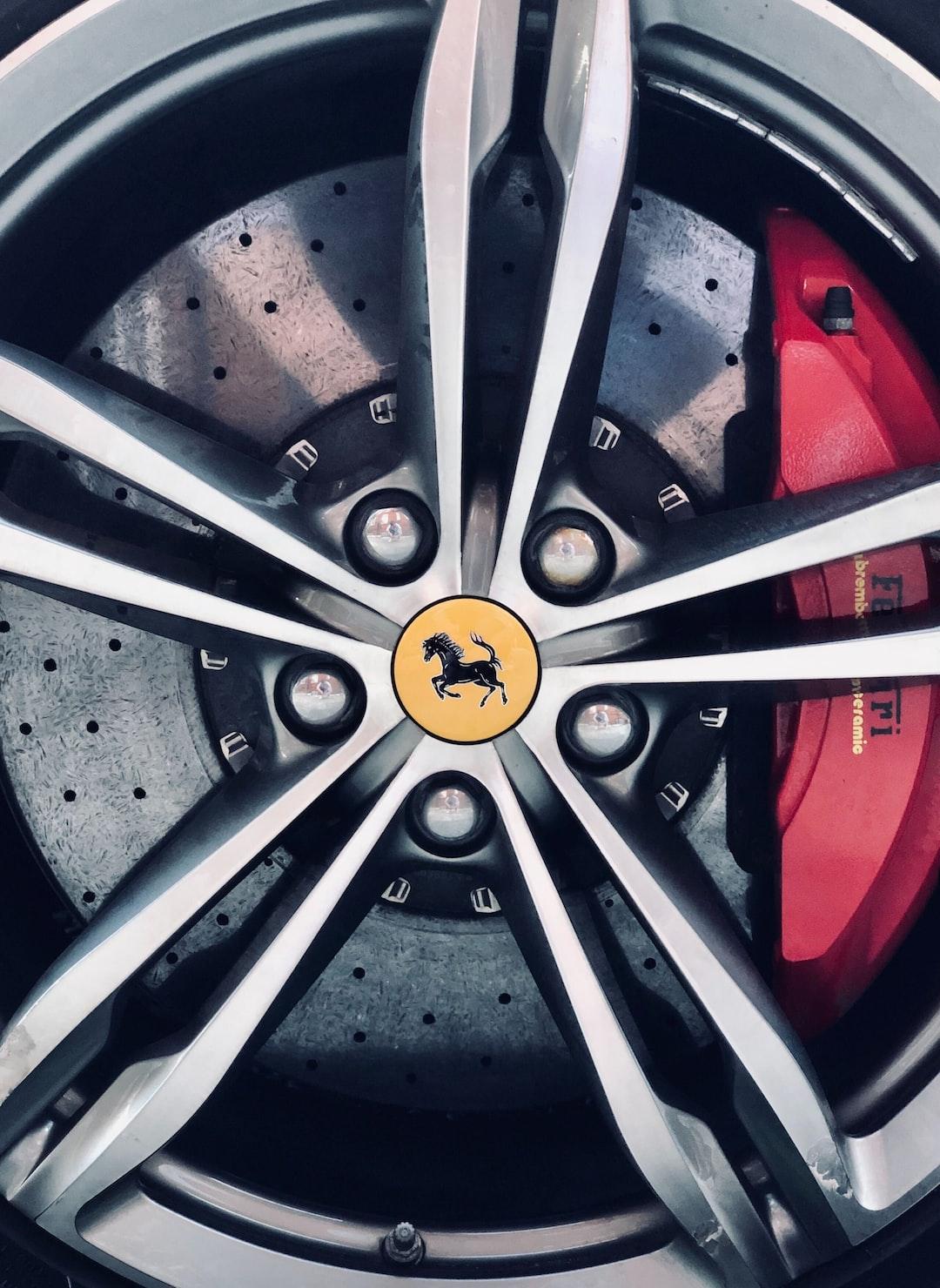 Ferrari wheel, London.