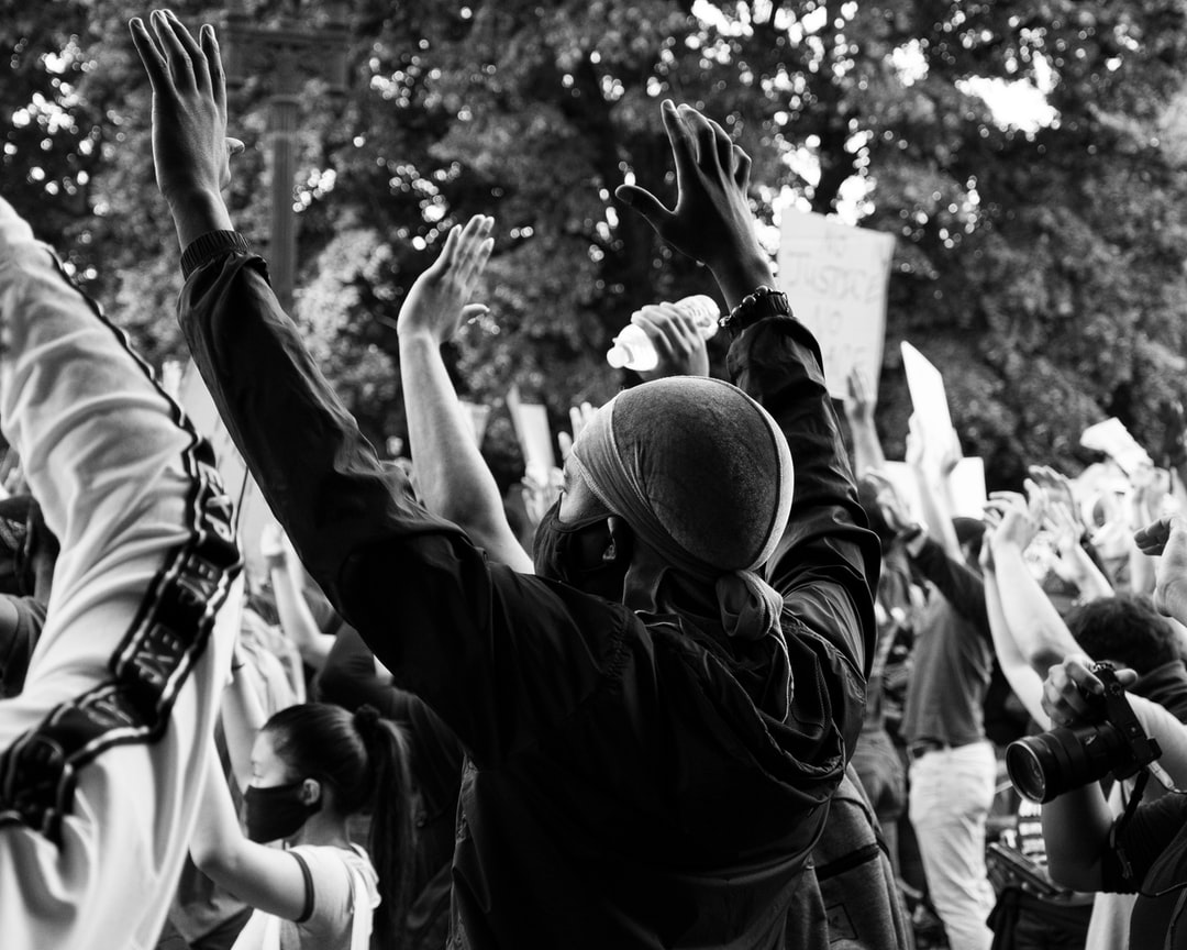 Black Lives Matter Protest in DC, 6/2/2020.  (Instagram: @koshuphotography)