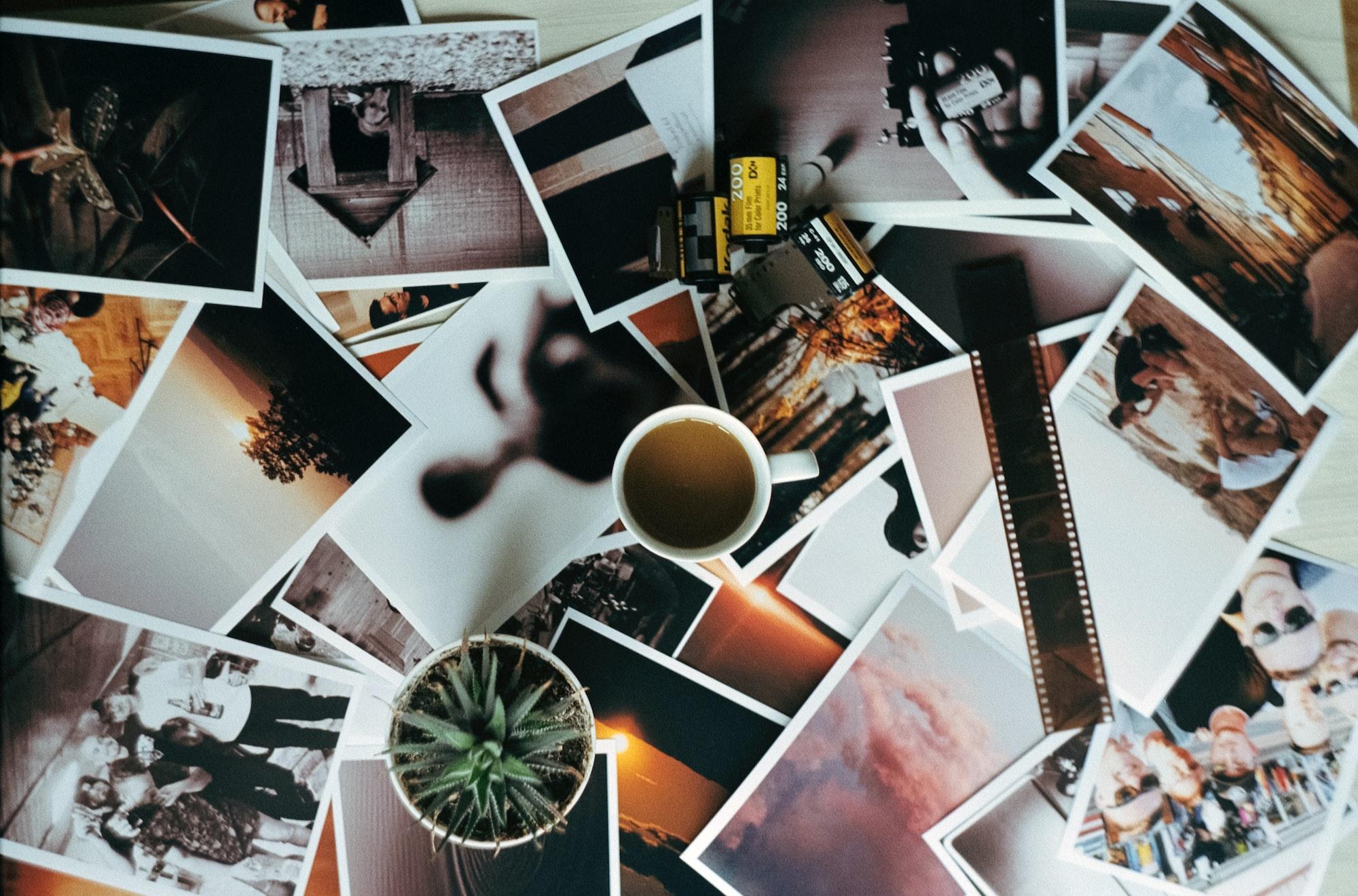 Коллаж из любимых фотографий