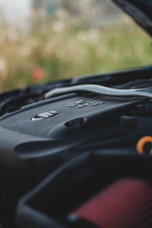 black and orange plastic tool