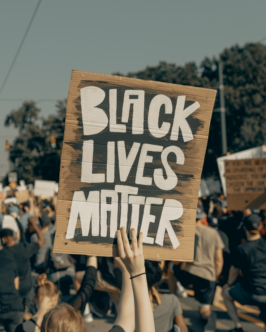 Black Lives Matter (IG: @clay.banks)