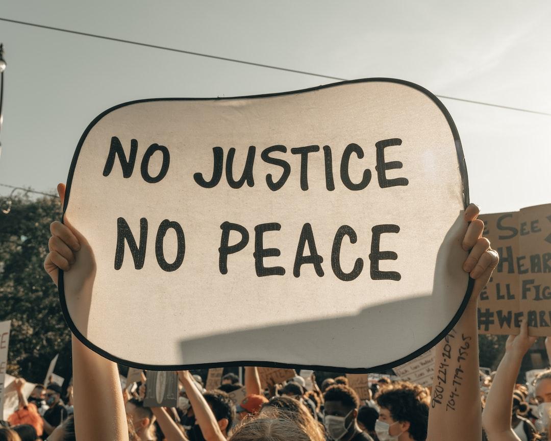 No Justice, No Peace (IG: @clay.banks)