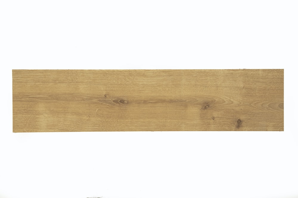 brown wooden plank with white background