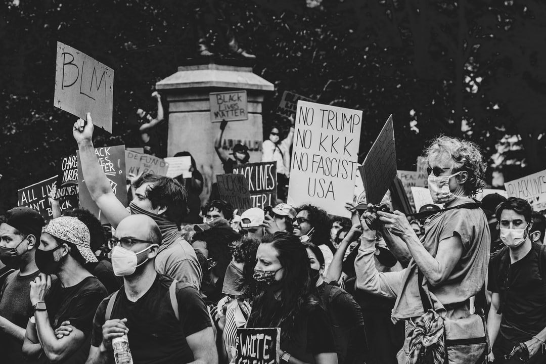 Black Lives Matter Protest, May 2, 2020 In Union Square, Manhattan, New York, Usa.  - unsplash