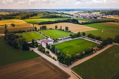 Stadion des TSV Aindling