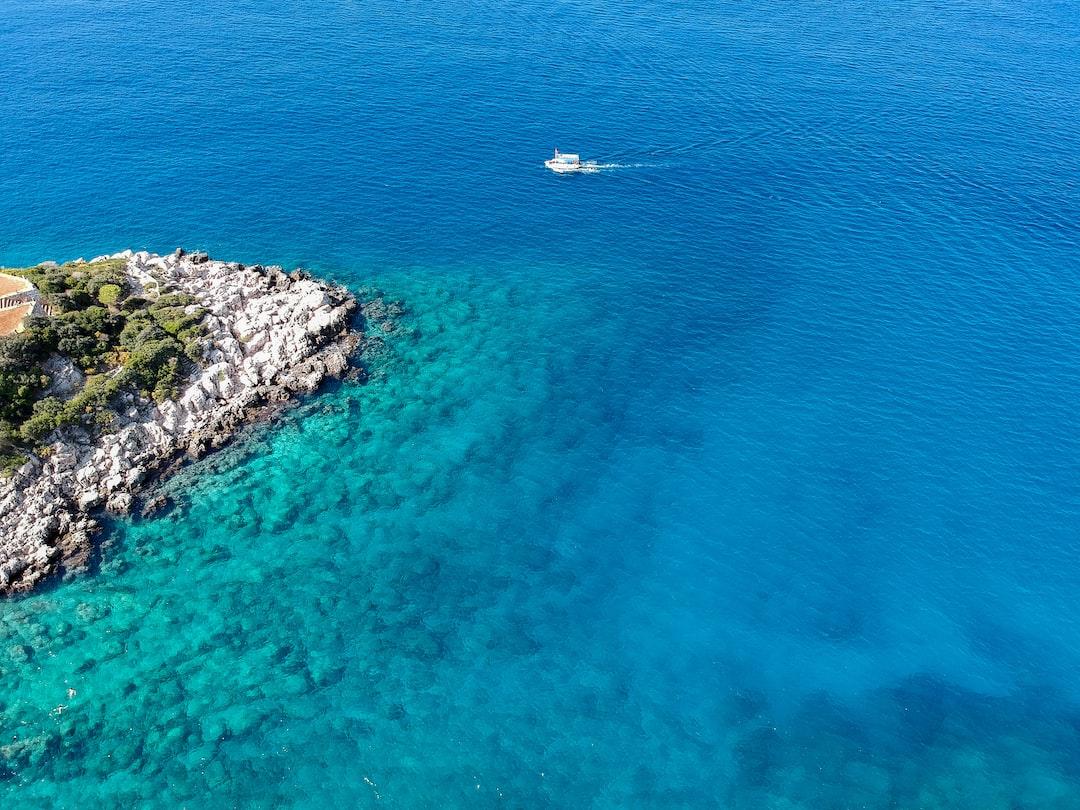 Crystal clear Mediterranean waters