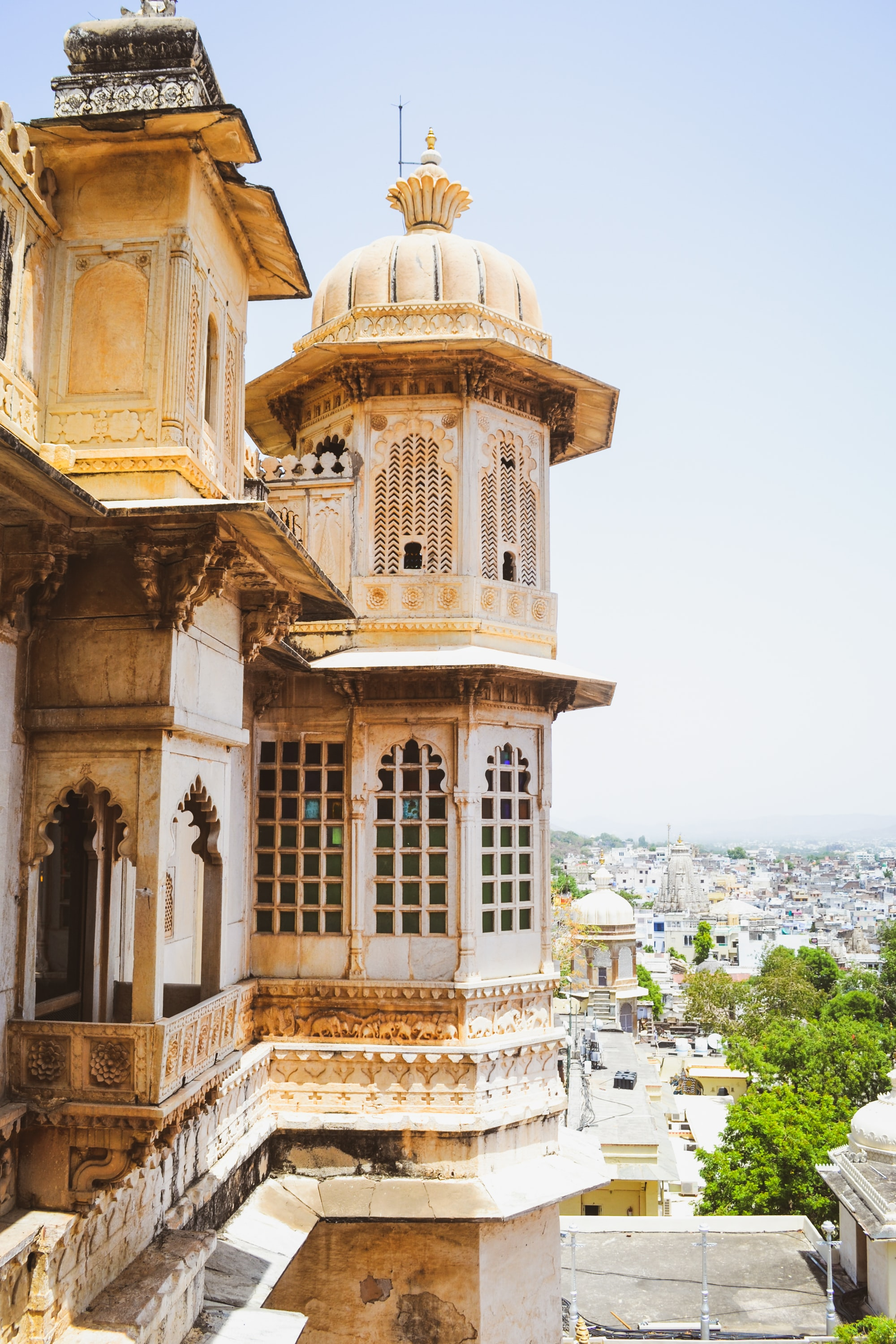 View from city place! #udaipur #rajasthan