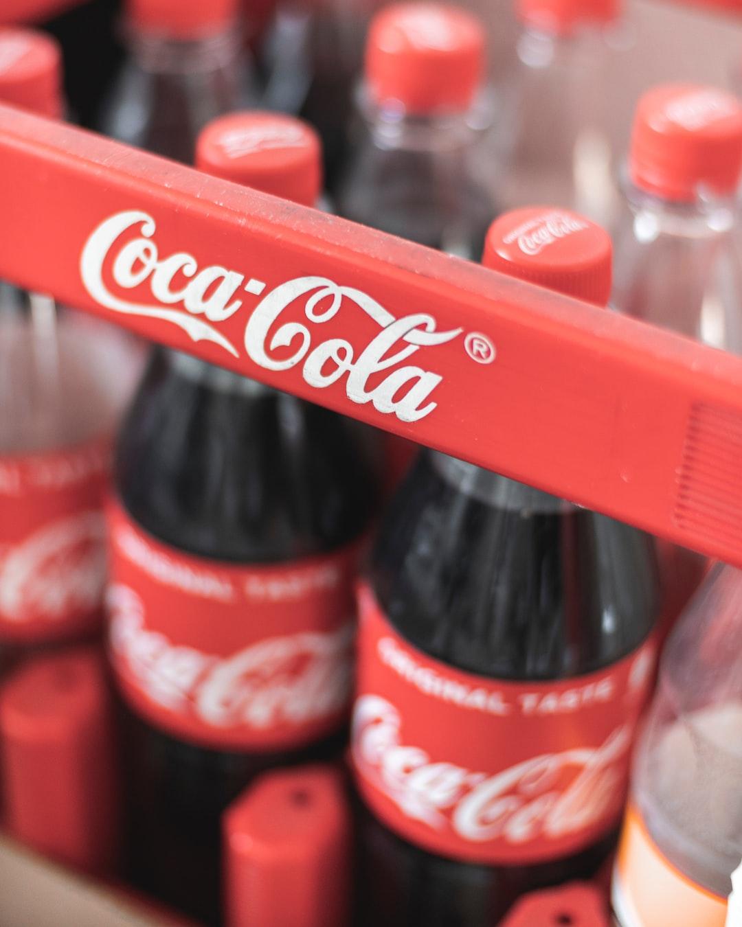 Crate of Coca Cola