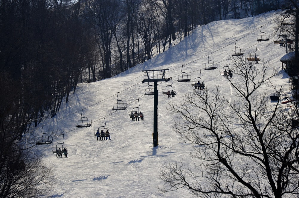 people on snow covered ground during daytime