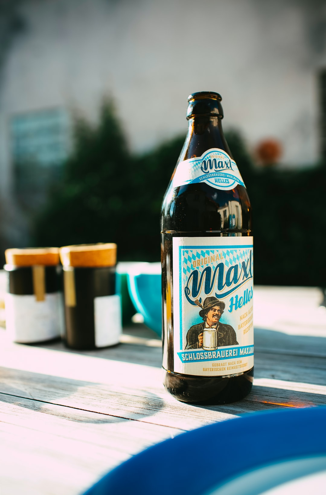 """Original Maxl Helles"" Craftbeer – Schlossbrauerei Maxlrain – Small family brewery in Upper Bavaria"