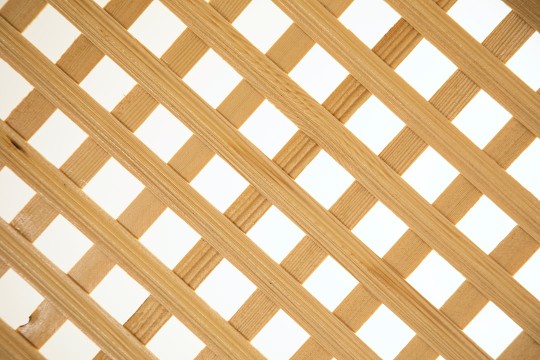 a perforated wooden separator background