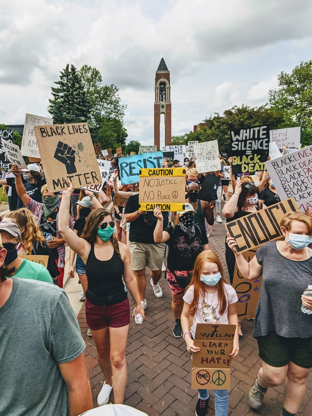 Black Lives Matter protest and march
