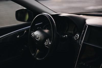 black mercedes benz steering wheel nissan zoom background