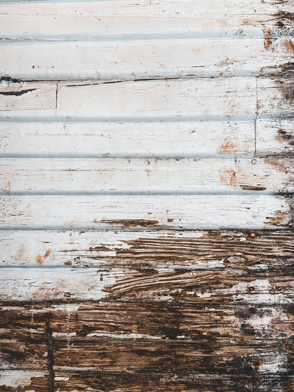 white and brown wooden wall