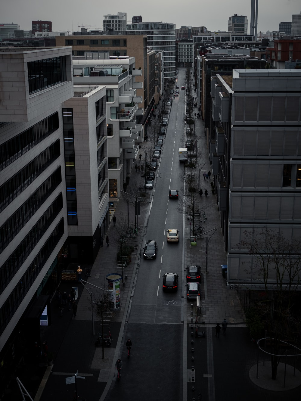 cars on road in city during daytime
