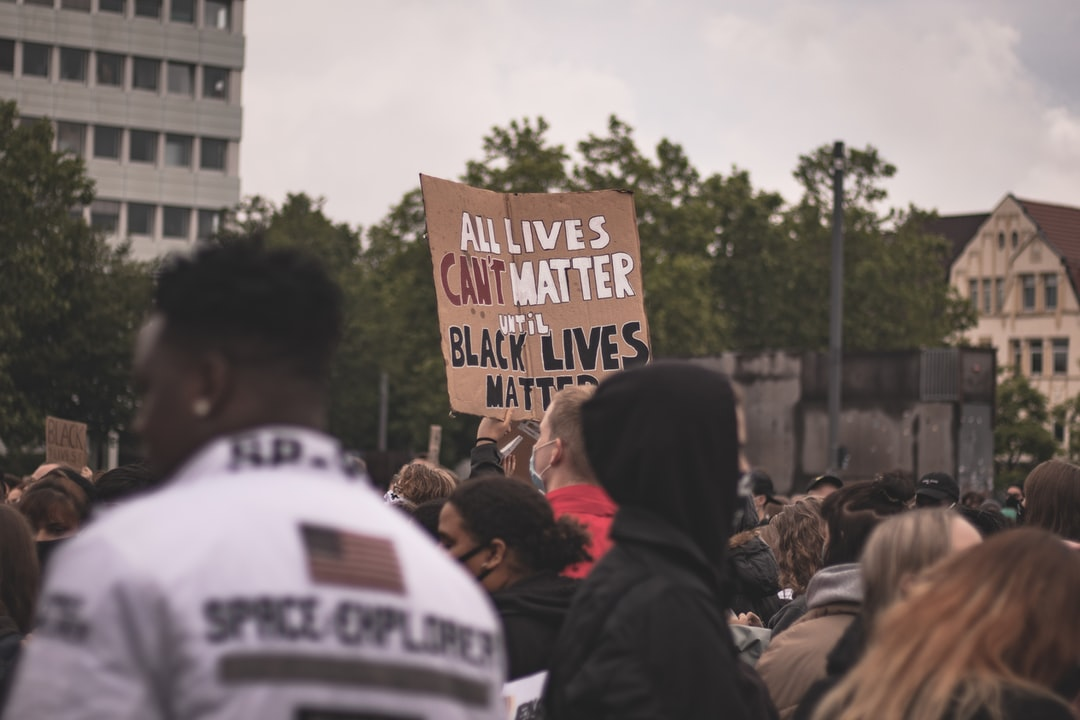 ALL LIVES CAN'T MATTER UNTIL BLACK LIVES MATTER.