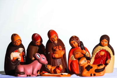 red haired female cartoon character christianity teams background