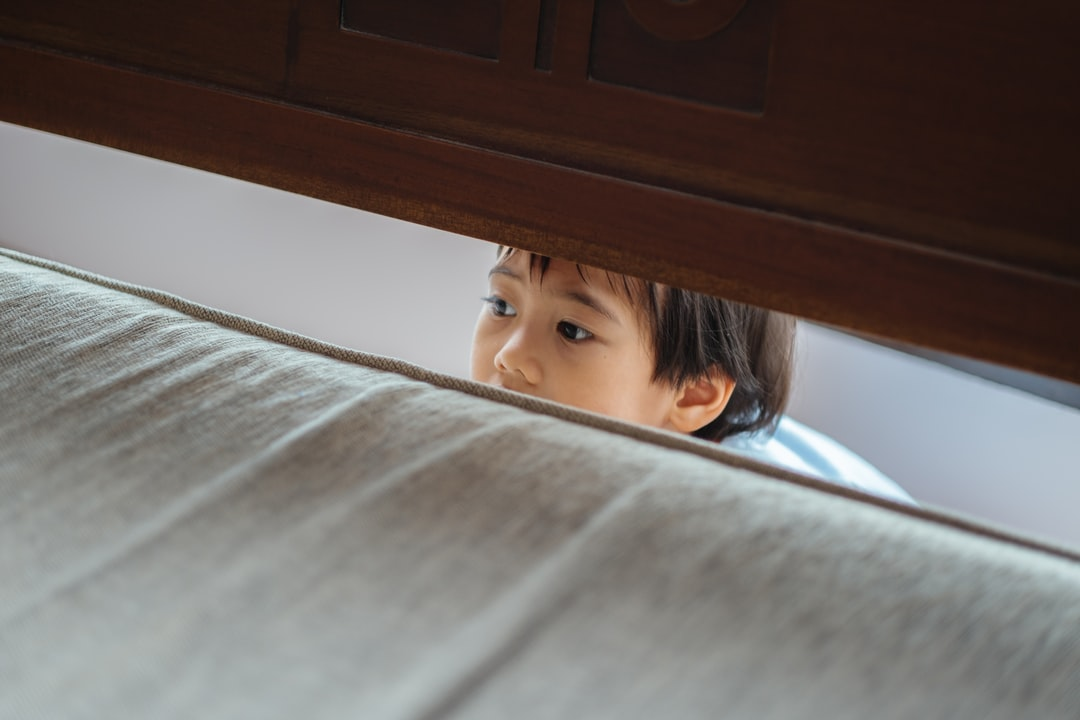 Hiding Kid. Hide & Seek