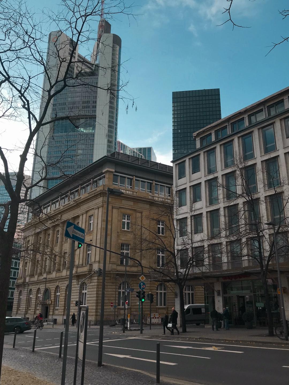 The skyscrapers of Frankfurt, Germany