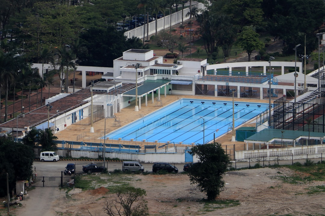 Hac Sa Municipal Park Swimming Pool, Coloane, Macau, China