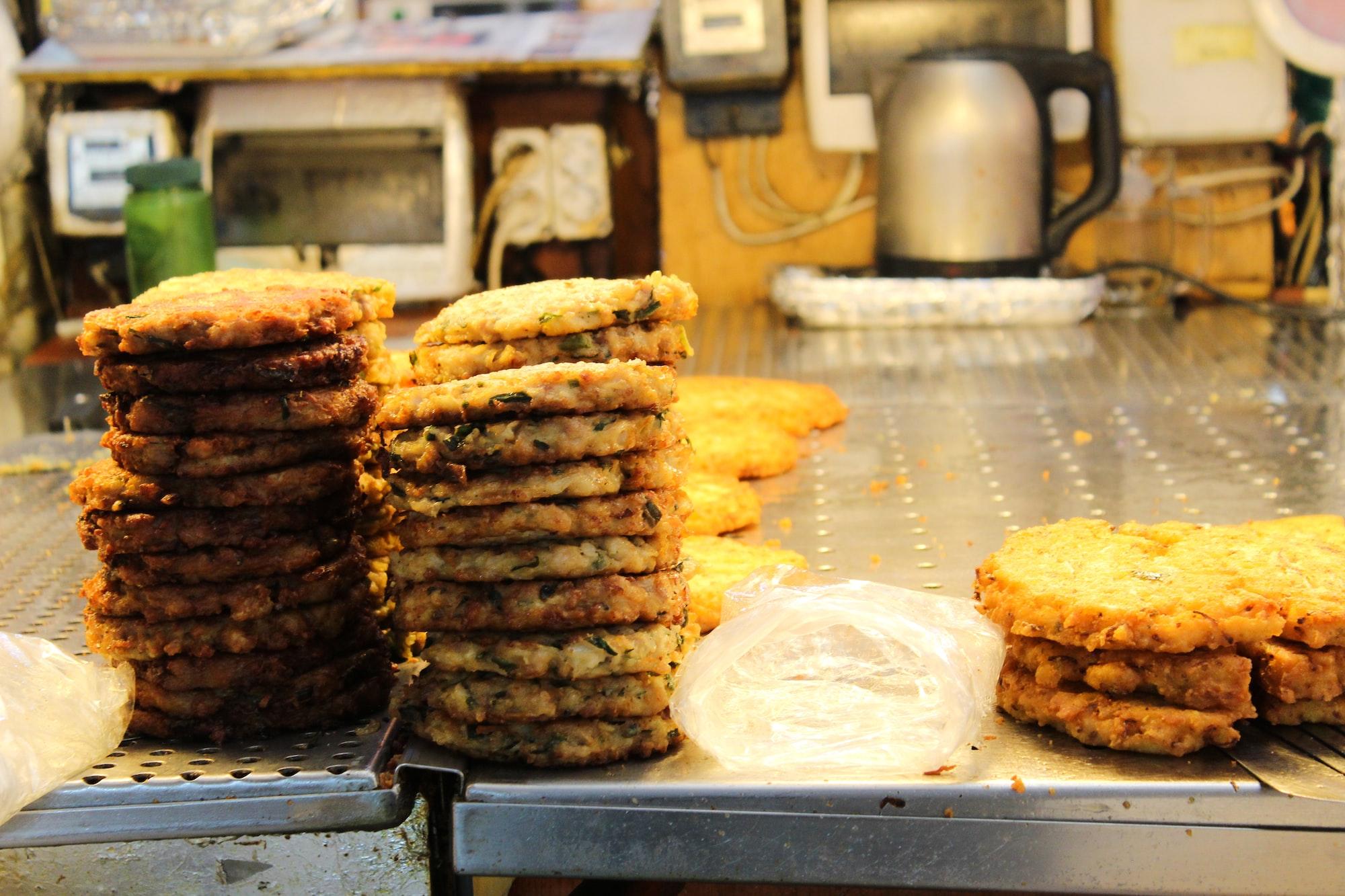 Traditional Korean Street Food